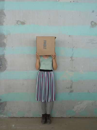 Elina Brotherus, 'One Minute Sculpture (Box)', 2018