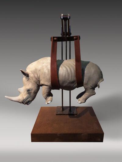 Stefano Bombardieri, 'Il peso del tempo sospeso-rino mini ', 2015