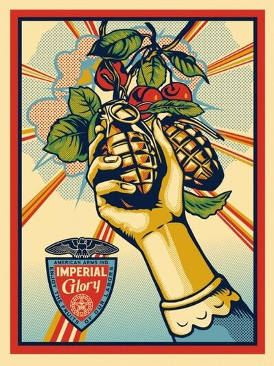 Shepard Fairey, 'Imperial Glory', 2011