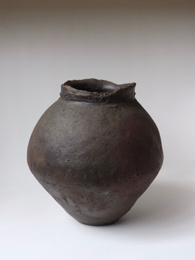 Mitch Iburg, 'Ember Buried Wide Mouthed Vessel', 2019