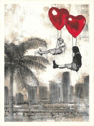 Mr. Brainwash, 'Love Is In The Air - Miami.', 2019