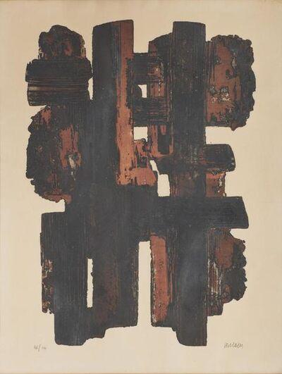 Pierre Soulages, 'Eau-forte IX', 1957