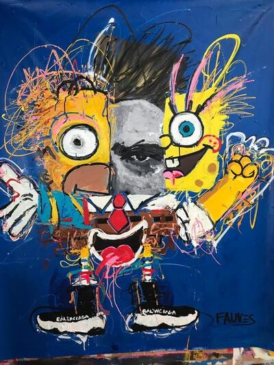 John Paul Fauves, 'James BOB', 2019