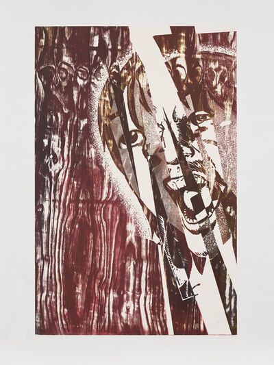 Christian Marclay, 'Scream (Bloodcurdling Shards)', 2019