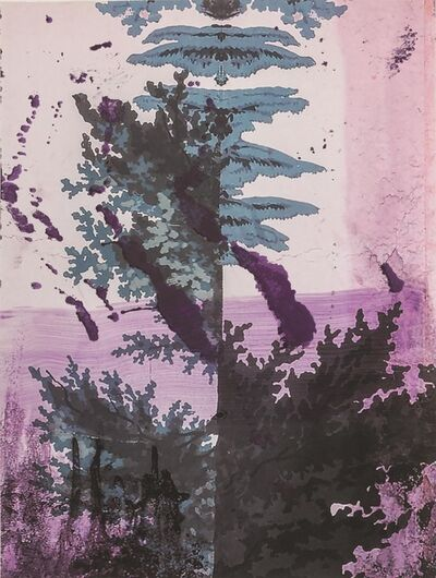 Julian Schnabel, 'Walt Whitman II (Lake)', 2016