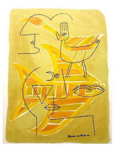 Victor Brauner, 'Victor Brauner - Ancient Egypt - Original Lithograph', 1963