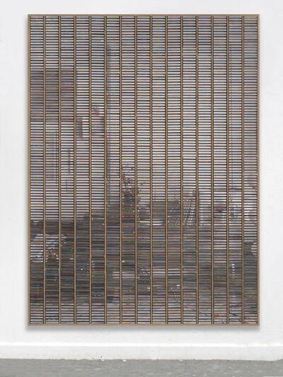 """Gregor Hildebrandt, '""""Wohnzimmer rechter Teil Stirnwand""""', 2019"""
