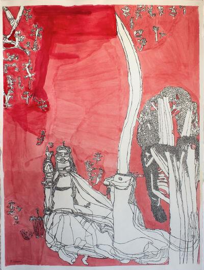 Mathew Calandra, 'Lady with Unicorn', 2018