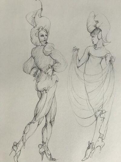 Leonor Fini, 'Dansant', ca. 1970