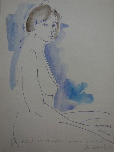 Alain Bonnefoit, 'Profile nude', 20th  Century