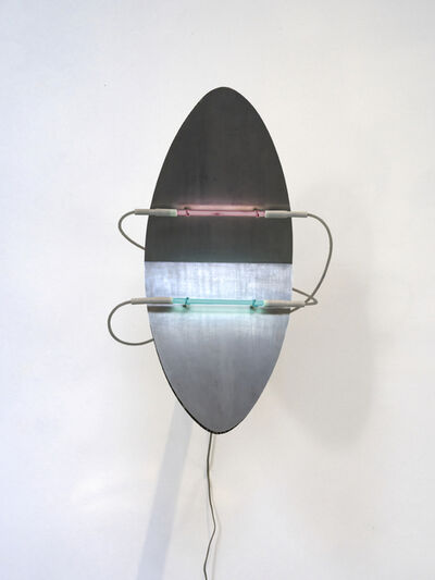 Keith Sonnier, 'Elliptical Shield Extended arm', 2005