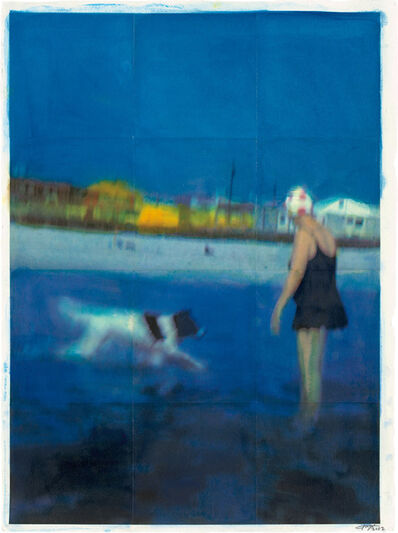 Isca Greenfield-Sanders, 'Blue Beach', 2002