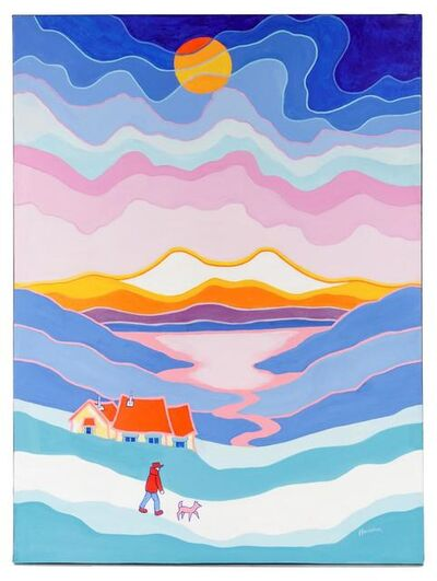 Ted Harrison, 'Going Home', 1982