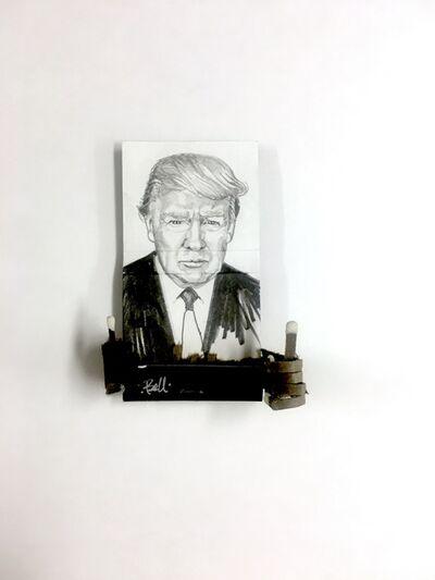 matchbox artists, 'Donald Trump', 2019