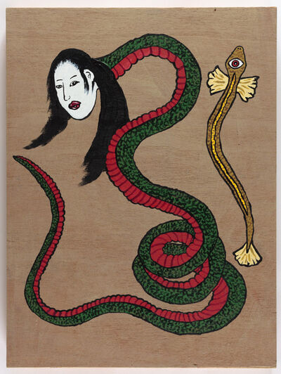 Yukari Sakura, 'The Nure-Ouna with a Golden One-Eyed Eel', 2017