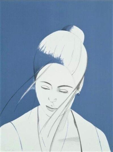 Alex Katz, 'Pamela (Blue)', 1976