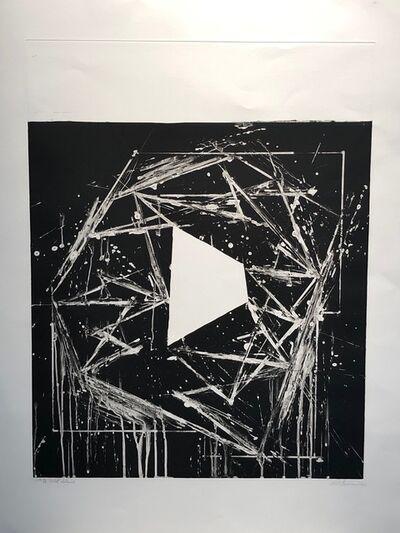 """Mel Bochner, '""""White Island""""', 1985"""