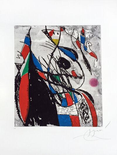 Joan Miró, 'L'Oiseleur et sa Compagne', 1981
