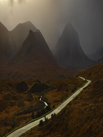 Albert Watson, 'Red Cuillins Road, Isle of Skye', 2013