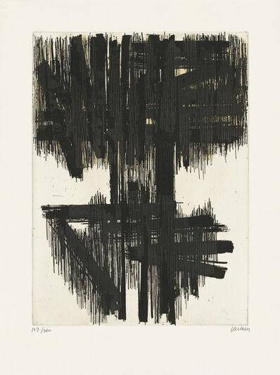 Pierre Soulages, 'Eau-forte VI', 1957