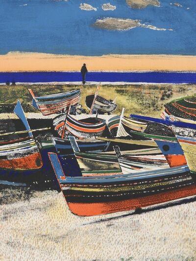 Rene Genis, 'Les bateaux de Cefalu (Sicily)', 1967
