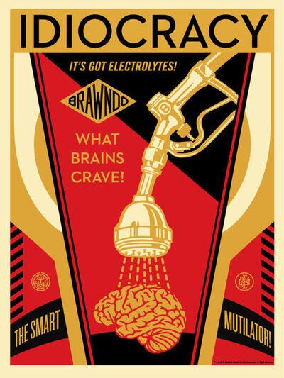 Shepard Fairey, 'Idiocracy'
