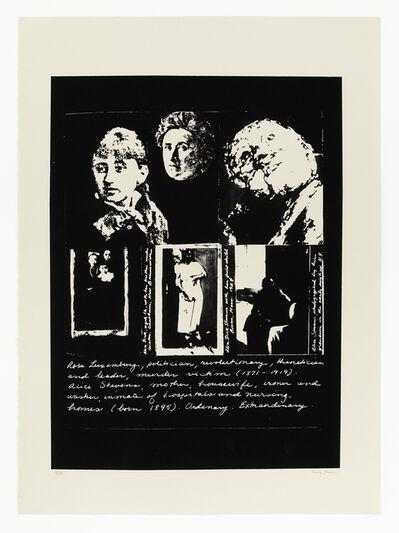 May Stevens, 'Ordinary Extraordinary', 1982