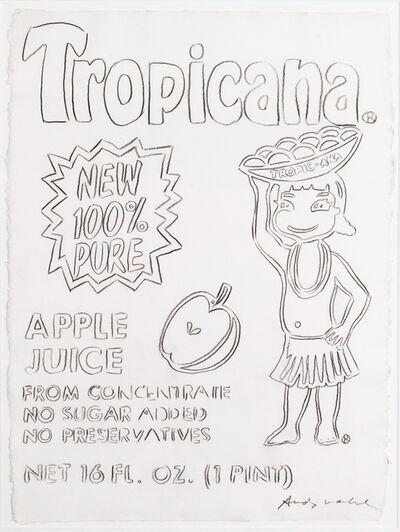 Andy Warhol, 'Tropicana Apple Juice ', 1986