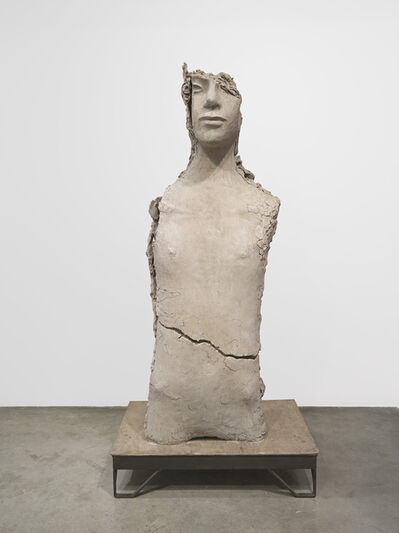 Mark Manders, 'Unfired Clay Torso', 2015