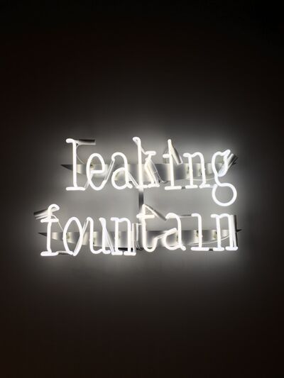FOS, ''Leaking Fountain' Neon Wall Lamp', 2018