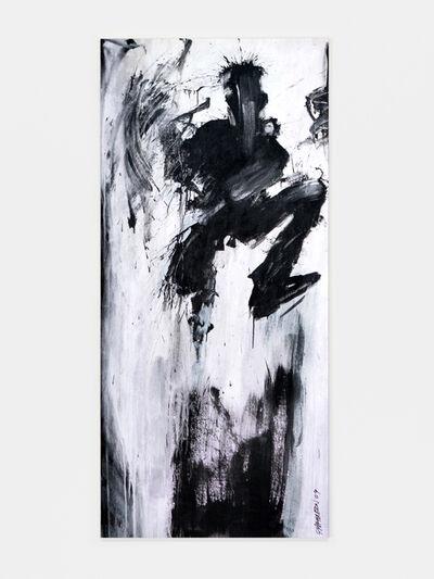 Richard Hambleton, 'Untitled (Jumping Purple Shadowman)', 2009