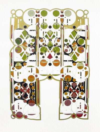 Glendalys Medina, 'White Alphabet A', 2013