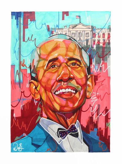 Domonique Brown, 'Barrack Obama', 2019