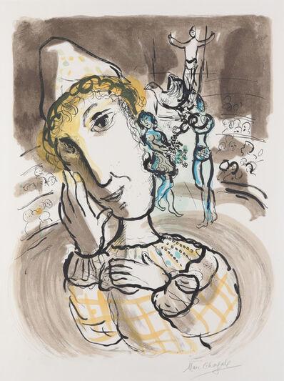 Marc Chagall, 'Cirque au Clown Jaune', 1967