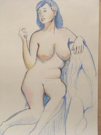 John Shelton, 'Nude Study', 2017