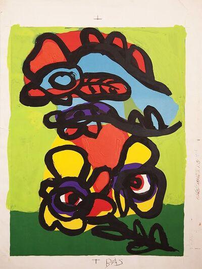 Karel Appel, 'Hommage à Mourlot', 1975-1976