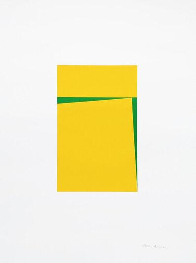 Carmen Herrera, 'Untitled (Yellow)', 2018