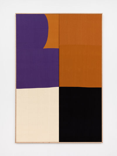 Ethan Cook, 'Purple Curve', 2020