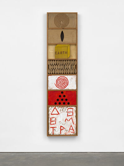 Joe Tilson RA, 'Stele for Demeter', 1979