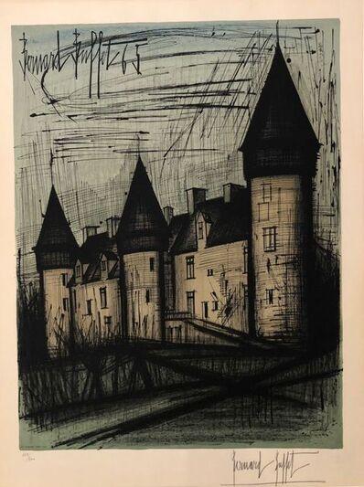 Bernard Buffet, 'Le Château de Culan ', 1965