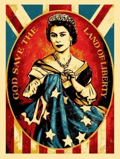 Shepard Fairey, 'God Save the Queen / God Save the Land of Liberty', 2012