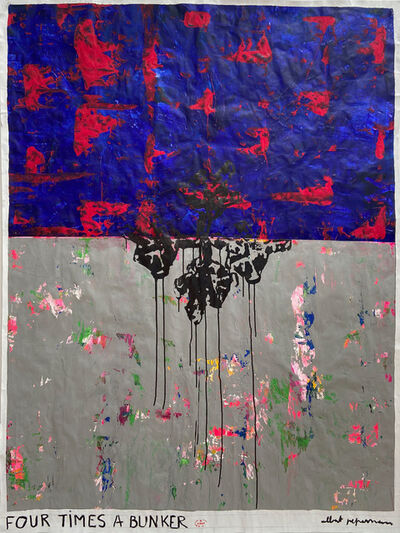 Albert Pepermans, 'Four times a bunker ', 2020