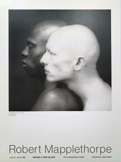 Robert Mapplethorpe, 'Ken Moody and Robert Sherman, Robert Mapplethorpe,  Michael H. Lord Gallery', 1984
