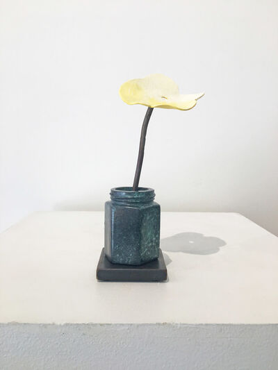 David Kimball Anderson, 'Yellow Poppy with Caper Bottle', 2018