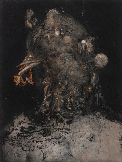 Nicola Samori, 'Testa fiorita', 2020