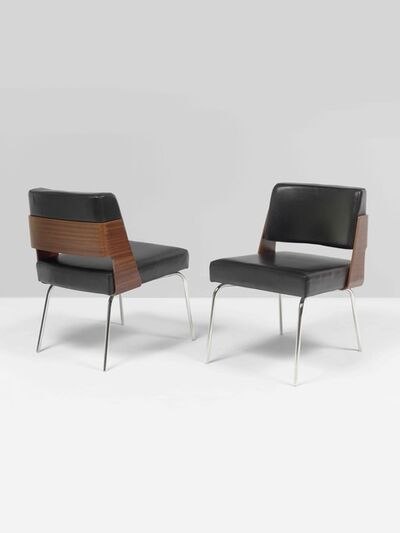 Antoine Philippon and Jacqueline Lecoq, 'Pair of chairs 3004', 1963