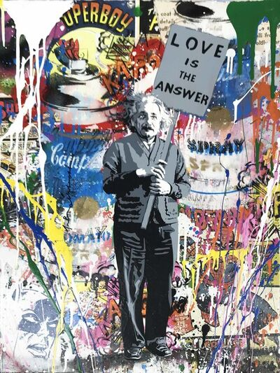 Mr. Brainwash, 'Einstein', 2018