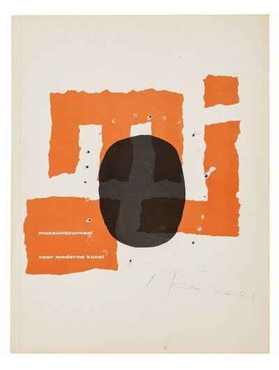 Lucio Fontana, 'Museumjournaal (Series 9; No. 5/6)', 1964