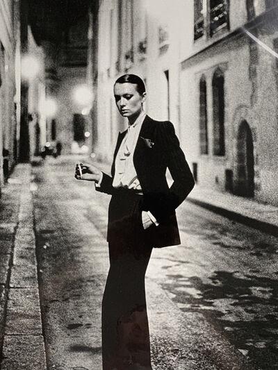 Helmut Newton, 'Rue Aubriot, Paris (signed)', 1975