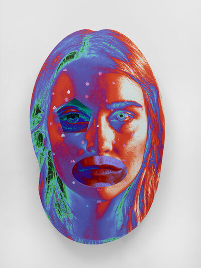 Tony Oursler, '+25^N', 2019